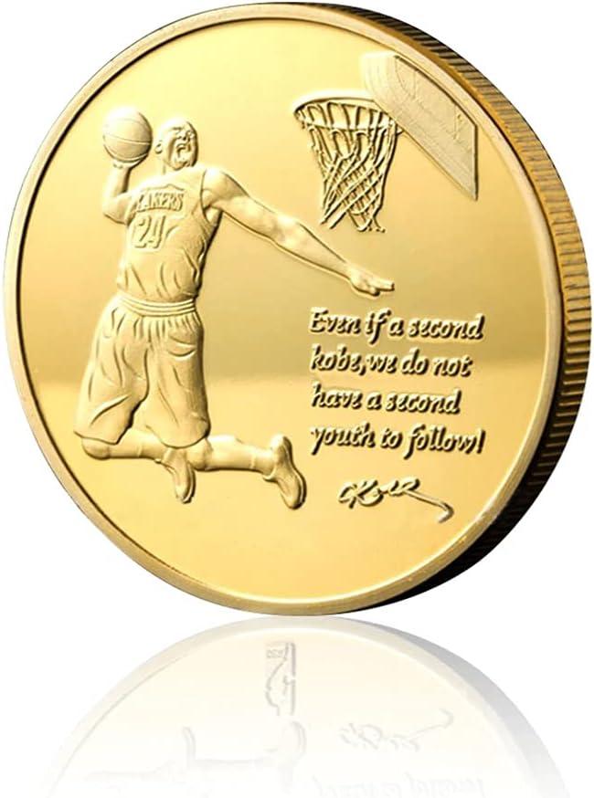 Oakland Mall Legendary Basketball Black Mamba Coin Recommended Kobe Superstar Challenge