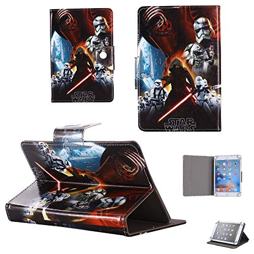 Star Wars - Universal Case - children kids Tablet Cover / 7' inch Tab - 7' Size compatible with ANY Model Samsung Android Ipad Amazon kindle etc