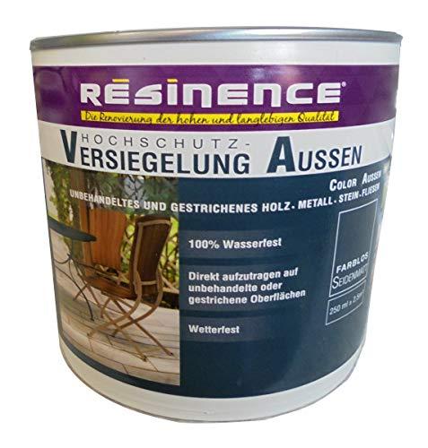 Resinence 250ml, Hochschutz-Versiegelung Aussen, Farblos, Seidenmatt