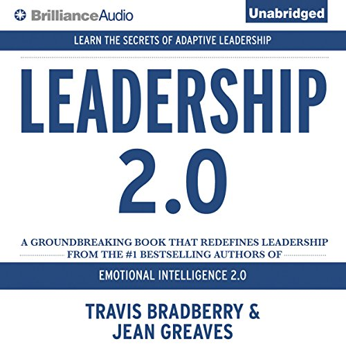 Leadership 2.0 audiobook cover art