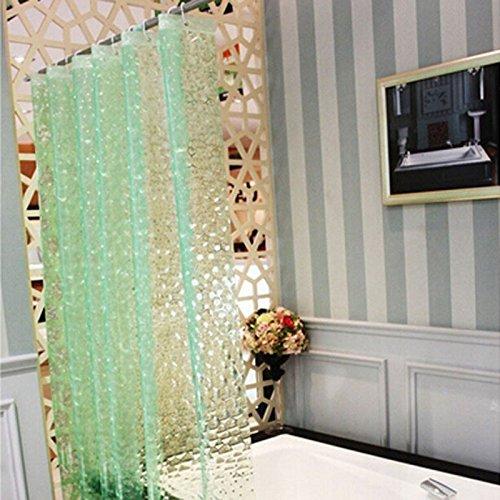 Bazaar 180X180cm PEVA waterdicht waterkubus patroon dikker bad douchegordijn