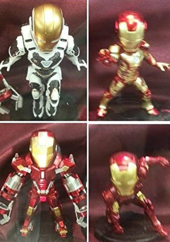 gran descuento Ironman World Collectible Collectible Collectible Figuras vol.1 4 Type Set  varios tamaños