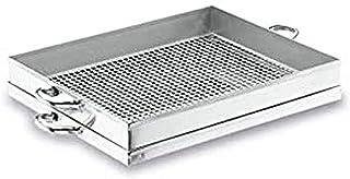 Lacor 50541 - Vassoio con colino per fritture, 40 cm