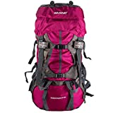 WASING 55L Internal Frame Backpack Hiking...