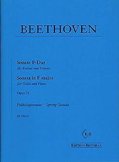 Beethoven Sonate Nr. 5 F-Dur op. 24 para violín y piano –