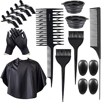16Pcs Hair Dye Kit