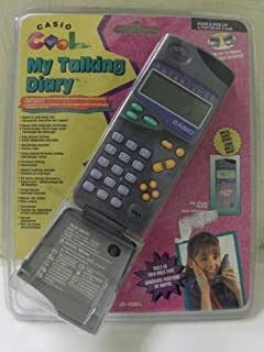 Casio Jd-4200 My Talking Diary Electronic Organizer Phone Book