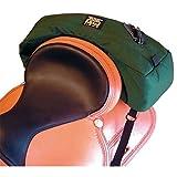 TrailMax Cantle Pocket - Bisaccia posteriore a banana per sella - Verde