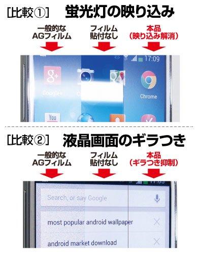 『アスデック ASUS ZenPad 7.0 ( Z370C / Z370KL )用 タブレット 保護フィルム [ ノングレア フィルム 3]・映り込み防止・防指紋 ・気泡消失・アンチグレア 日本製 NGB-Z370』の2枚目の画像