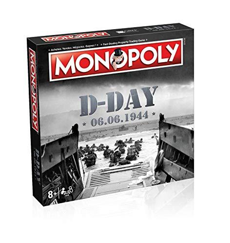 Monopoly D-Day - Juego de Mesa (versión bilingüe en inglés)