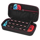 Custodia per Nintendo Switch – Younik Case Rigido da Viaggio Versione Aggiornata con più Spazio per 19 Cartucce, Caricabatteria...
