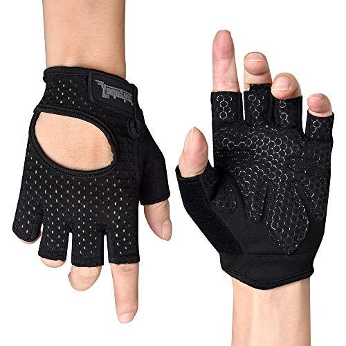 Fitself Fitness Handschuhe Damen Herren Atmungsaktive Gewichtheben...