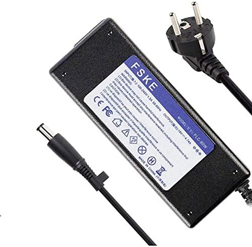FSKE 90W 19V 4.74A Alimentatore Caricabatterie per HP 463958-001 609939-001 9470M 8460P 6930P 8470P DV6 DV4 DV3 6710 HP 840 G1 2570P 2540P 6470B AC adapter,Notebook EUR Power Supply,7.4 * 5.0mm