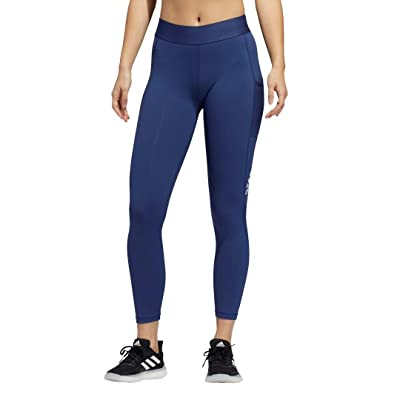 adidas Alphaskin Sport 7/8 Tights (Tech Indigo) Women