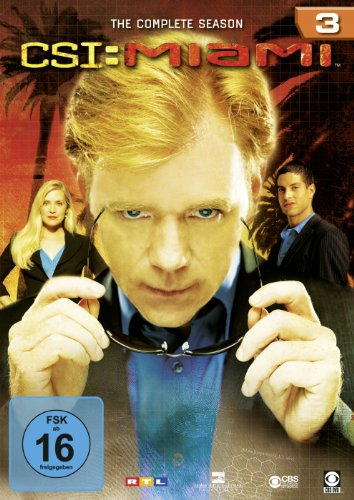 CSI: Miami - Season 3 [6 DVDs]