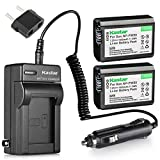 Kastar Mini Rapid A/C Charger Features a Fold-out US Plug, 110-240V Worldwide Input Voltage, Car Charging Adapter, and European Plug. Kastar Battery Utra-high Capacity. Use high quality Japanese Cells for longer battery life with no Memory Effect. Ch...