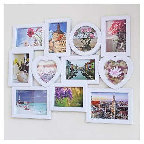 JSJJAET Bilderrahmen Heiße verkaufende neueste Neue Studio Kombinations-Foto-Rahmen kreative Joint Foto Wall Simple Plastic Brautkleid Art Foto (Color : 60x47cm)