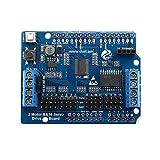 ILS - Tablero de extensió servo + Canal 16 Motor de 2 Canales para Arduino UNO chasis del automóvil Inteligente Brazo del Robot