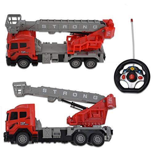 RC Auto kaufen Feuerwehr Bild 5: deAO funkgesteuertes Feuerwehrauto; Truck mit Kanälen- Voll funktionsfähiges Fahrzeug mit Fernbedienung*