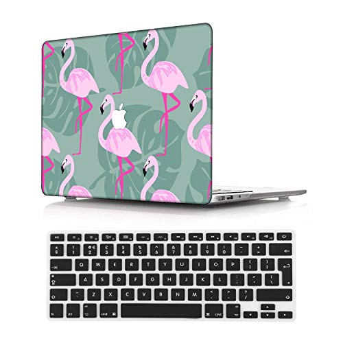 NEWCENT Newest MacBook Air 13' Case,Plastic Ultra Slim Light Hard Case UK Keyboard Cover for Newest MacBook Air 13 inch with Retina Display Touch ID 2020 Release(Model:A2337 M1/A2179),Animal 4_1