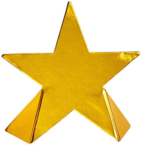 Preisvergleich Produktbild Beistle 50097 8er Pack Folie Star Tischkarte,  31 / 2 Zoll