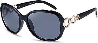 Oversized Sunglasses for Women, HD Mirrored Lens Polarized Sunglasses 100% UV Protection