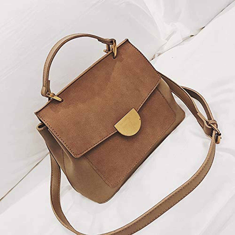 WANGZHAO Bag, Simple Retro Handbag, Jog Shoulder Bag, Satchel Bag Trend