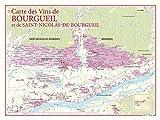 Carte des vins de Bourgueil et St Nicolas de Bourg