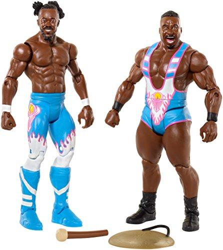 WWE Kofi Kingston & Big E Figura de acción (2u.) -The Día Batalla Packs 43