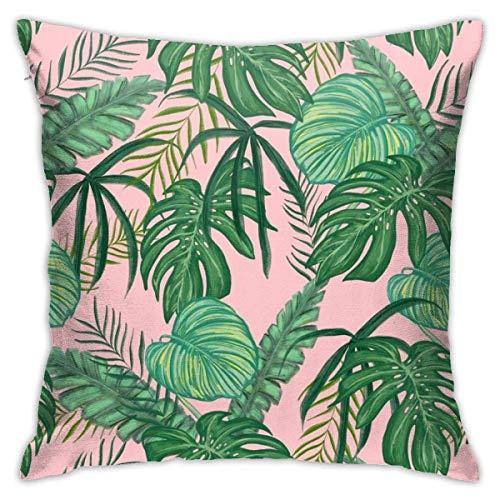 maichengxuan Tropical Leaf – (10) fundas de almohada, fundas de almohada, fundas de almohada de suelo, fundas de cojín, fundas de cojín de coche