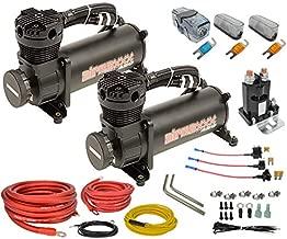 airmaxxx 480 Black Air Compressors & Dual Compressor Wiring Kit