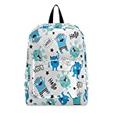 Mochila para ordenador portátil, mochila escolar Hello Cool Monster