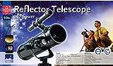 Edu-Toys Spiegelteleskop Reflektorteleskop 500/76mm Teleskop Astronomie Sterne -