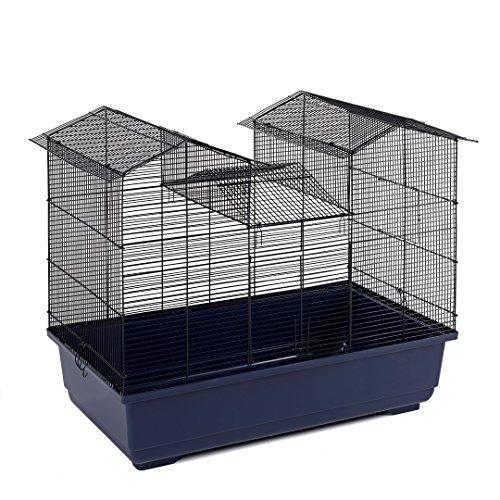 Little Friends Cage Château à Barreaux Etroits pour Hamster/Souris