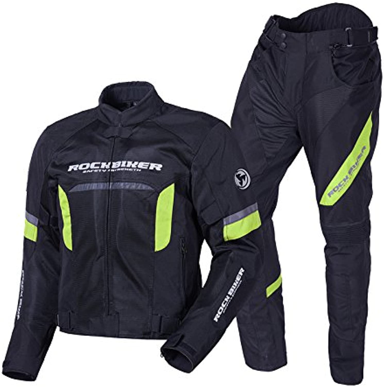 Yiwa Men Motorcycle Riding Suits CrossCountry Race Predective Clothes Set