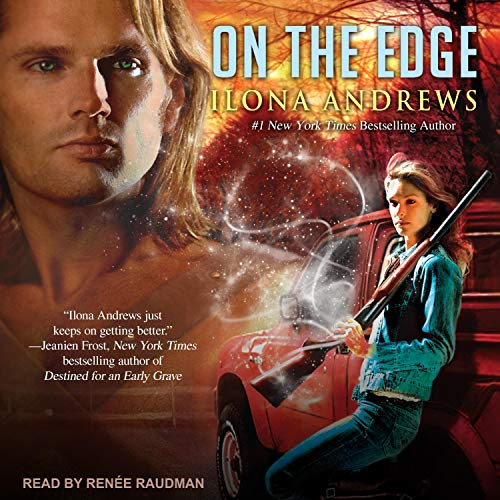 On the Edge Audiobook By Ilona Andrews cover art