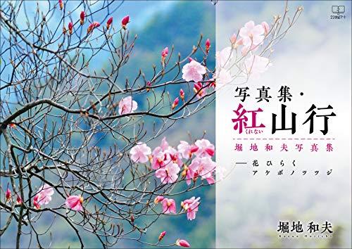 Photobook Kurenai Sanko Flower open Akebono azalea Kazuo Horichi Photobook (Japanese Edition)