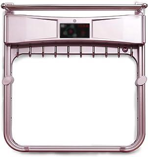 QARYYQ Toallero toallero eléctrico toallero Calefactor Estante baño Estante baño toallero Toallero (Color : Pink, Design : B)
