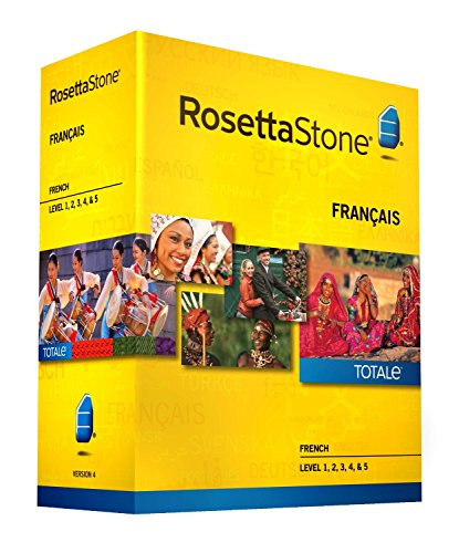 Rosetta Stone French Level 1-5 Set - includes 12-month Mobile/Studio/Gaming Access