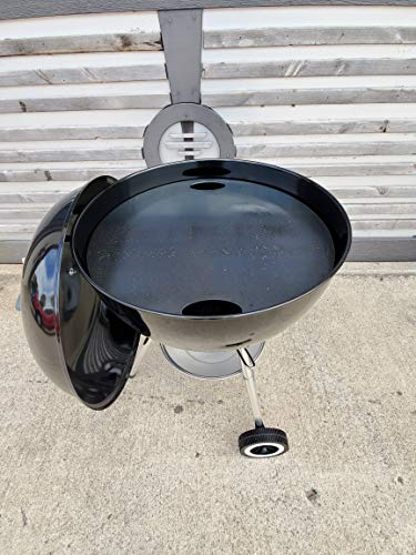 Hunsaker Smokers Griddle Plate for 22' Kettle Grill