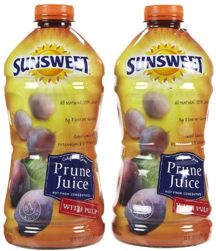 Sunsweet Prune Juice with Pulp - 64 oz - 2 pk