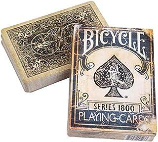Ellusionist Bicycle 1800 Vintage Series Playing Cards - Blue- Magic Tricks Magic Poker Card Magic Toy