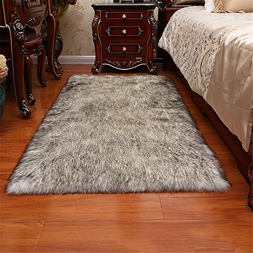 Nordic Minimalist Polyester Non-Slip Floor Mat In Addition To Mite And Moisture-Proof Solid Color Bedroom Carpet Suitable For Living Room Balcony Bay Window Hotel