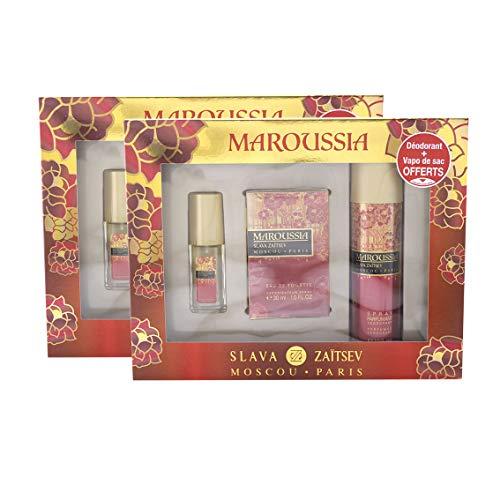 Maroussia - Juego de 2 cajas de perfume + desodorante
