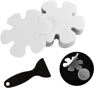 Xhuidz 20 Stuks antislip bad stickers,10 cm Stuks transparante antislip stickers voor bad en douche,eenvoudig te bevestige...