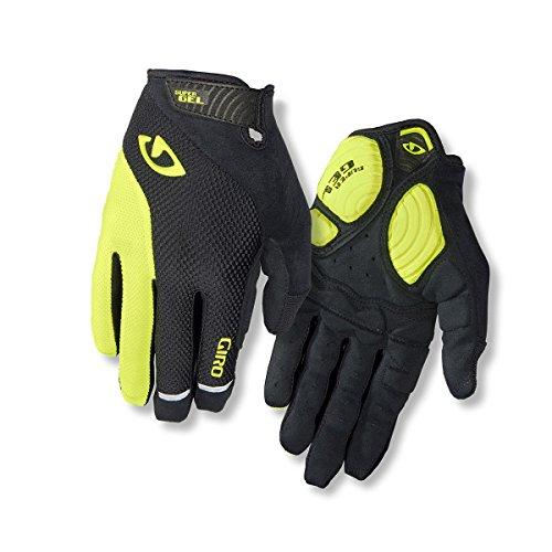 Giro Unisex - Guantes de Ciclismo para Adultos Strade Dure LF, Negro/Highlight Yellow, M