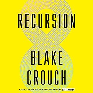 Recursion audiobook cover art