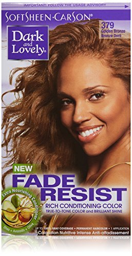 Dark and Lovely Fade Resistant Rich Conditioning Color Haarfarbe / Hair Color Golden Bronze 379