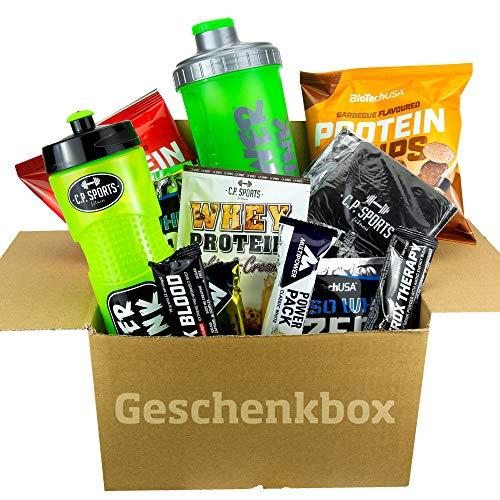 Biotech USA ISO WHEY ZERO Protein Probier Set 20er Geschenkbox Whey Protein Proben - Protein Chips - Eiweißshaker - Eiweißriegel - Trainingsbooster - Testpaket (20er-Testpaket)