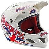Elizabeth Arden Fullface Helm Brave Jack White/RED/Blue XL (60-62cm)